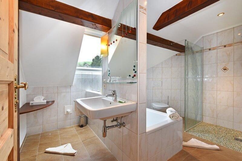 Ferienwohnung mit Badewanne in Kärnten - Urlaub am Bauernhof Österreich Gerlitzen