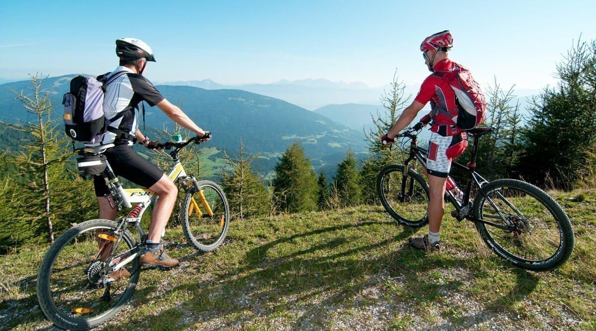 Wandern und Mountainbiken rund um Villach