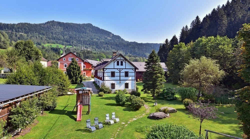 Pension in Kärnten - Region Villach, Nähe Ossiacher See - Gerlitzen Alpe - Unterkunft in Arriach
