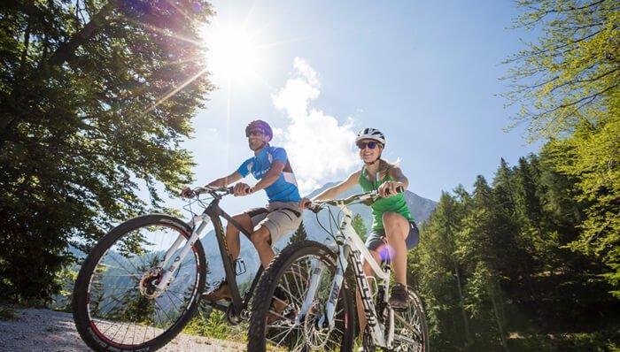 Mountain Biker welcome