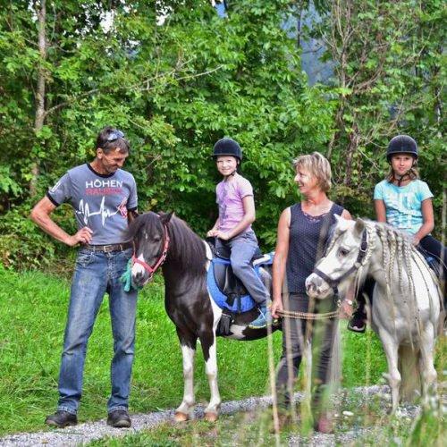 Familienurlaub mit Reiten und Pferde in Kärnten - Pension Nähe Ossiacher See