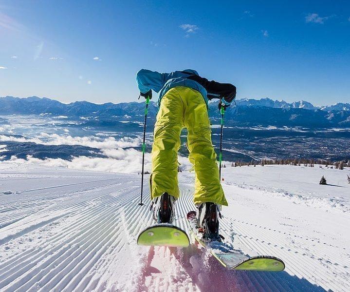 Skifahren im Schigebiet Gerlitzen Alpe Kärnten - Winterurlaub Region Villach