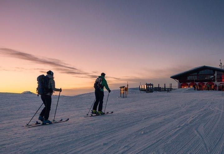 Skifahren und Touren gehen auf Gerlitzen Alpe bei Winterurlaub in Hotel-Pension Pilsachhof
