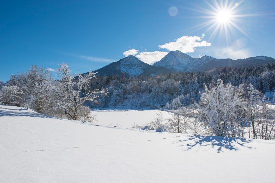 Winterurlaub auf dem Pilsachhof