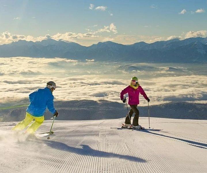 Winterurlaub und Skifahren auf der Gerlitzen Alpe in Kärnten