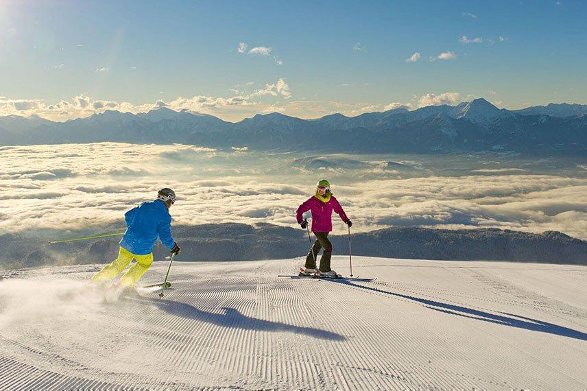 Wintervergnügen im Herzen Kärntens